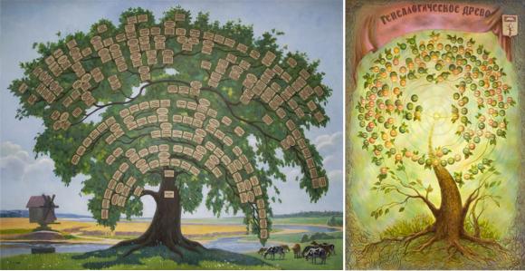Как самому создать генеалогическое дерево