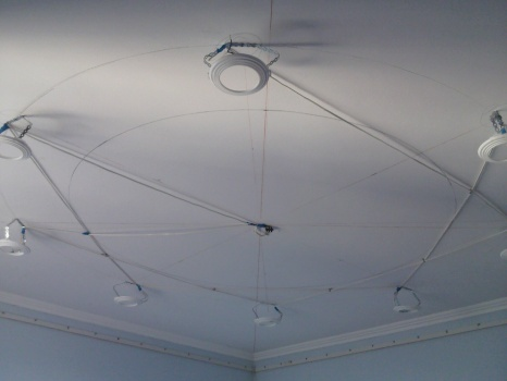 Крепление на базовый потолок
