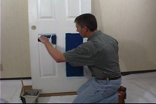 Что следует знать о покраске межкомнатных дверей?