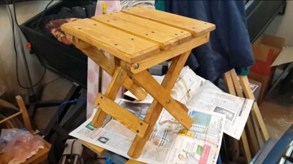 Как своими руками сделать рыбацкий стульчик?