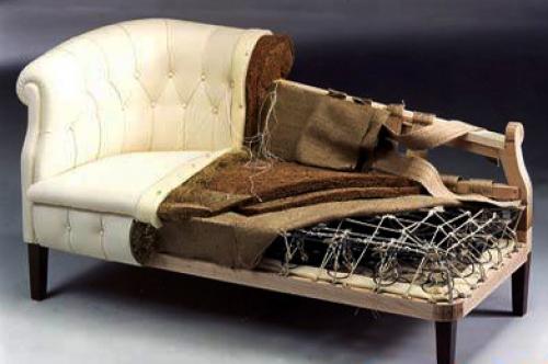 Из чего состоит диван