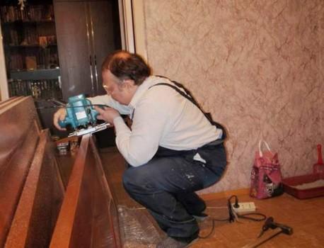Технология реставрации дверей