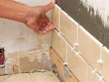 Кладка плитки на стену своими руками
