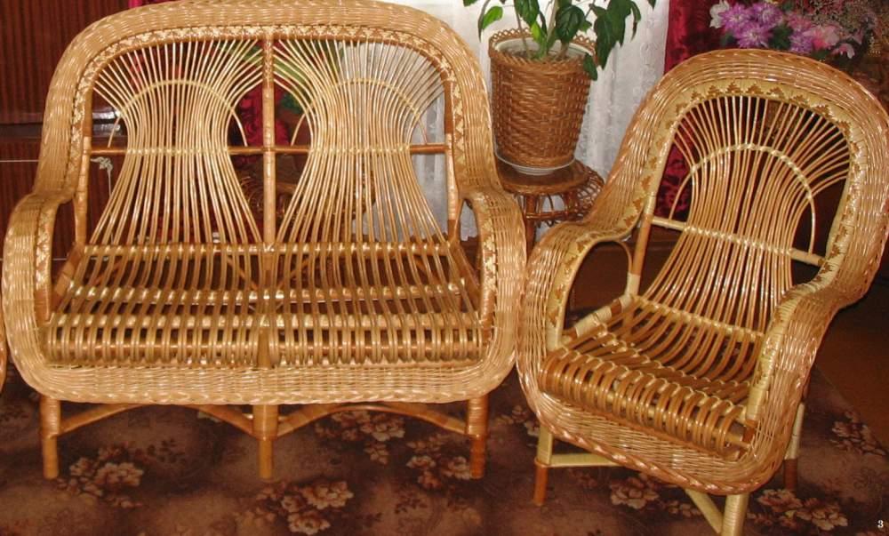Как изготовить плетеную мебель своими руками