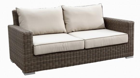 Делаем плетеный диван