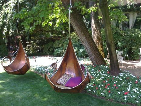 Оригинальные кресла-гамаки