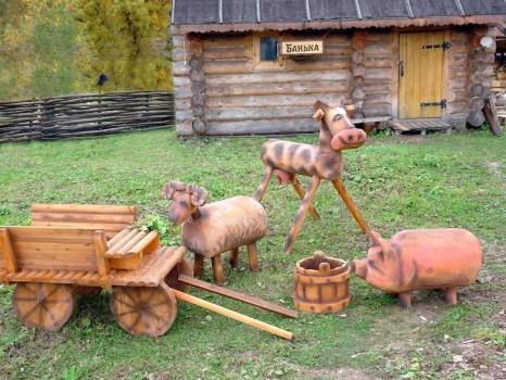 Садовые фигуры своими руками: создаем фигурки для дачи из