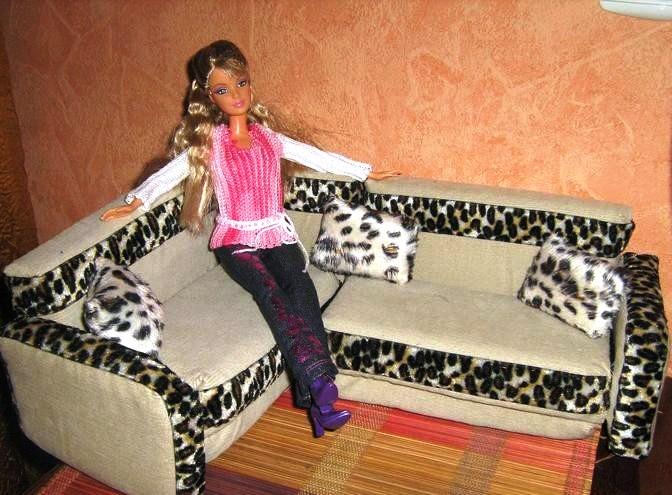Фото мебели для кукол своими руками