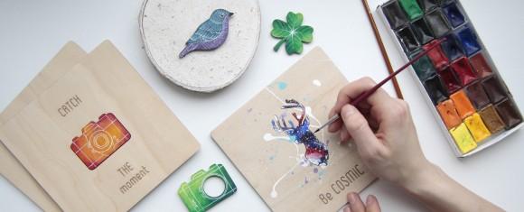 Материалы для дерева-открытки