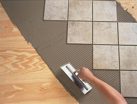 Технология монтажа ПВХ плитки