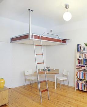 Кровать-чердак к потолку