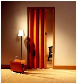 Недостатки дверей гармошек