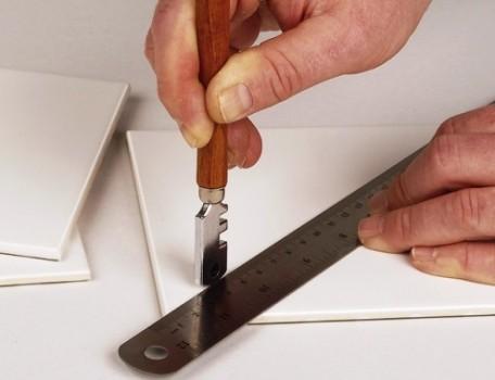 Использование стеклореза