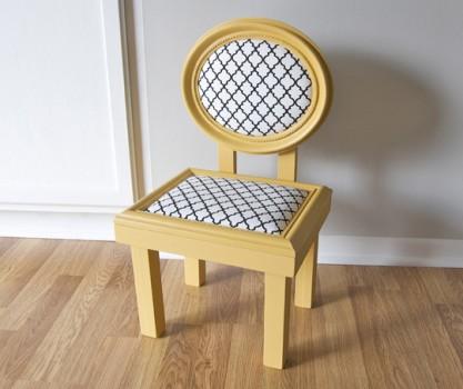 Как своими руками сделать детский стульчик?
