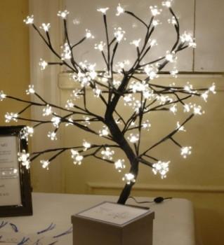 Дерево желаний из природных материалов