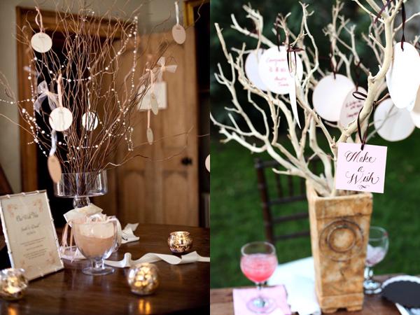 Дерево на свадьбу своими руками фото