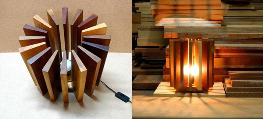 Как сделать люстры из дерева