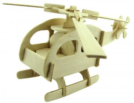 Деревянный вертолетик