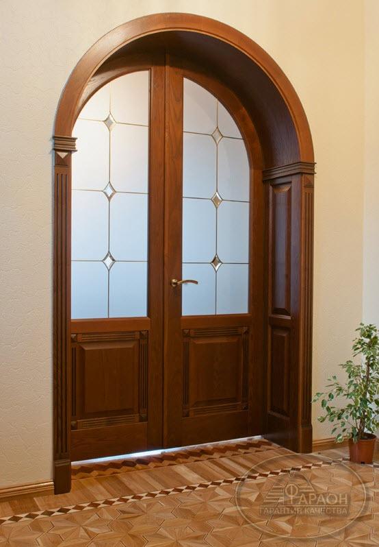Арочные двери своими руками