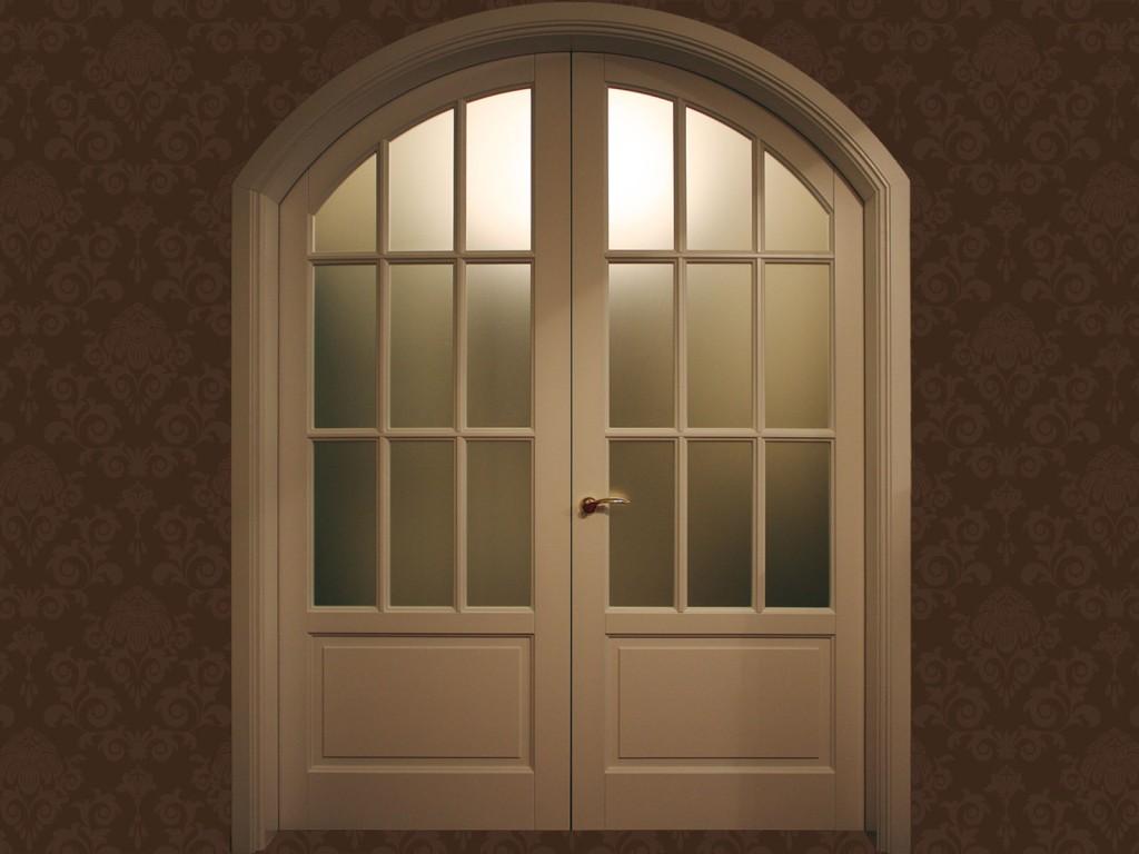 Арочные двери своими руками.