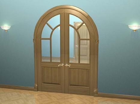 Как сделать арочные двери