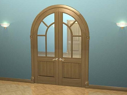 Межкомнатные двери арка фото