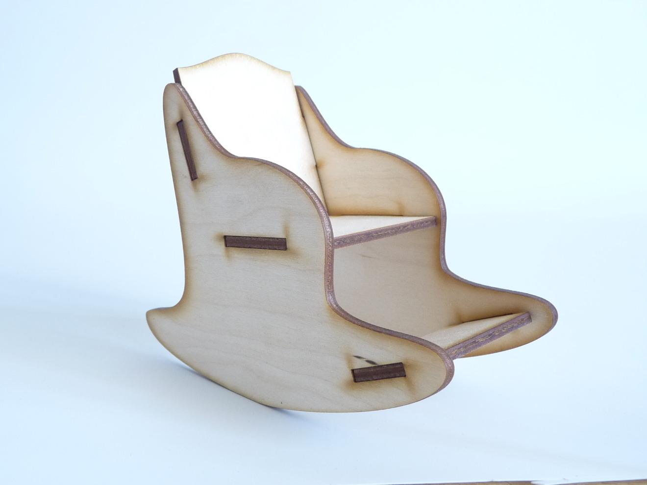 Чертежи кресло качалки из фанеры своими руками