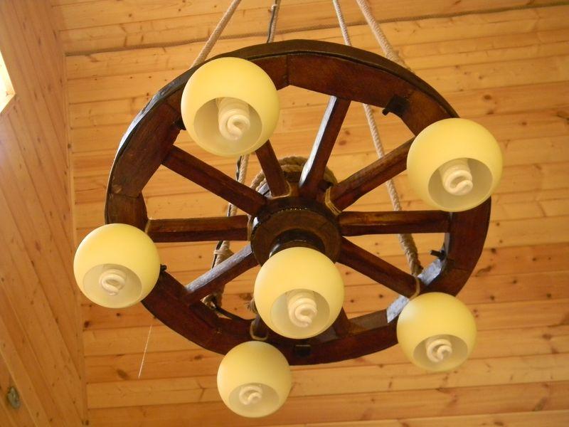 Деревянные колёса своими руками