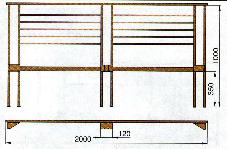 Изготовление двуспальной кровати из металла своими руками