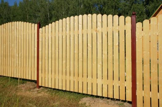 Строительство деревянного забора самостоятельно