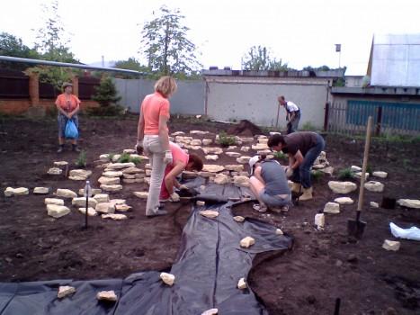 Подготовка к созданию ручья