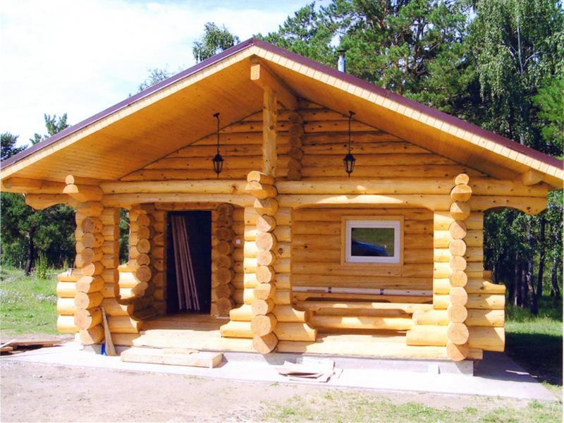 Строительство домов из сруба своими руками