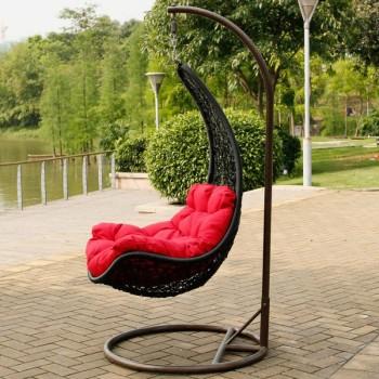 Подвесное кресло с мягким каркасом