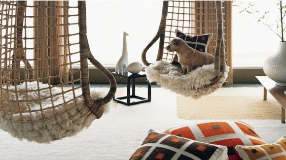 Плетеные подвесные кресла делаем сами