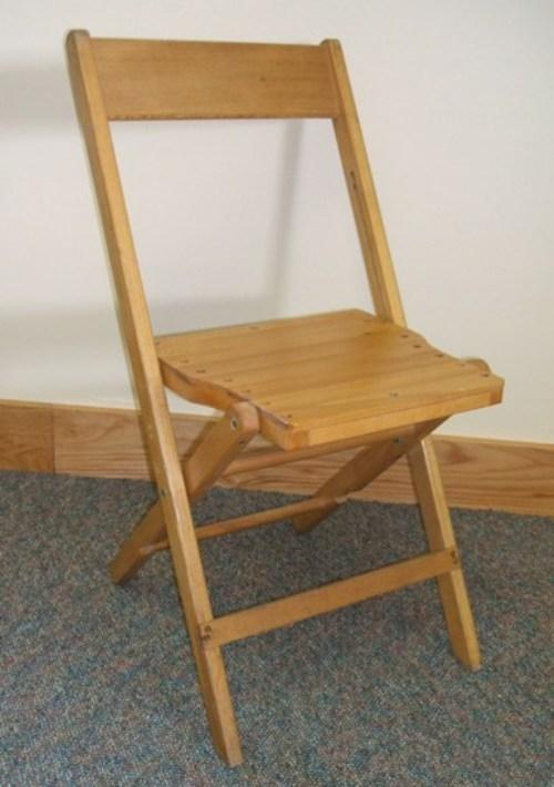 Как сделать складной стульчик из дерева своими руками