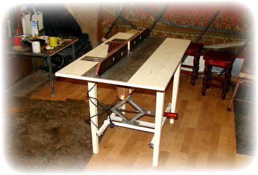 Самодельный фрезерный стол для Bosch 1200