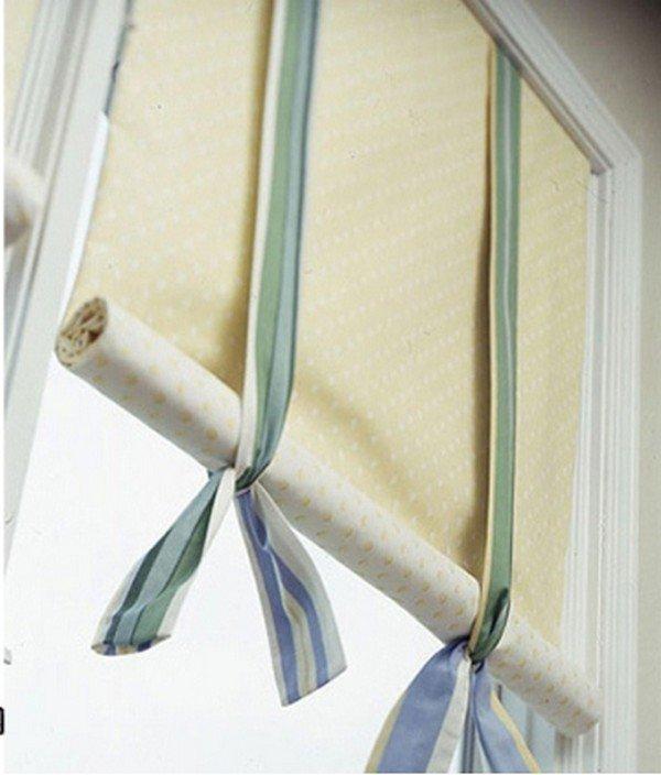 Как своими руками сделать рулонные шторы фото