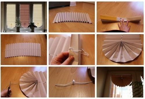 Как пошить жалюзи из ткани