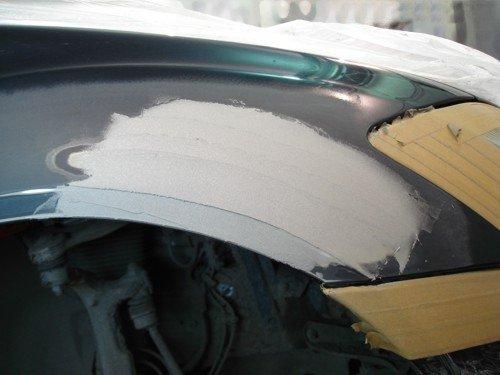 Шпаклёвка покраска авто  видео
